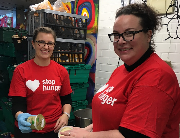 Going 'hungry' for Stop Hunger Day